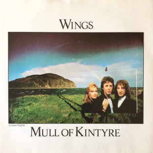 "Wings ‎- Mull Of Kintyre/Girls' School (7"") (VG/G++)"